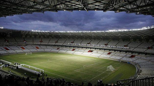 Stadión Mineirao v brazilském Belo Horizonte.