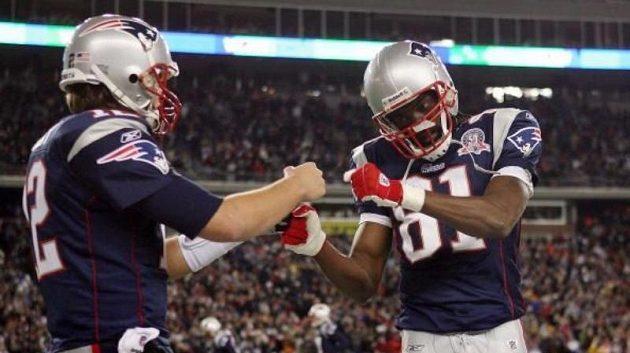 Tom Brady a Randy Moss