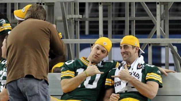 Matt Flynn a Aaron Rodgers
