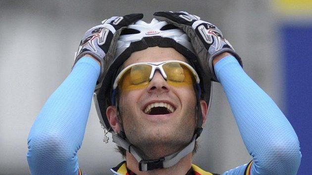 Belgičan Niels Albert dojel v Koksijde pro svůj druhý titul mistra světa.