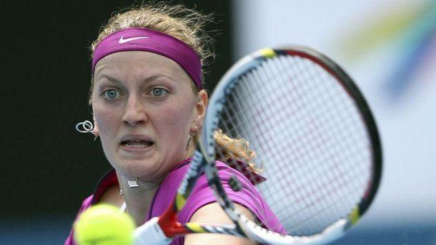 Petra Kvitová se na turnaji v Sydney přiblížila postu světové jedničky.