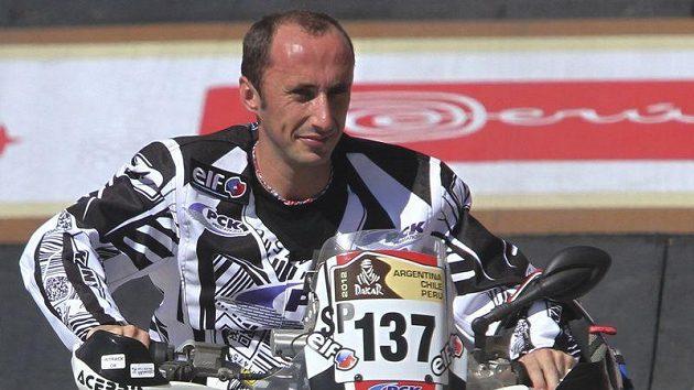 Francouzský závodník Sébastien Coué