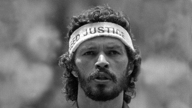 Sócrates na archivním snímku z MS 1986 v Mexiku.