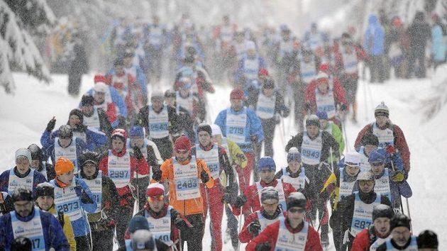 Po Jizerské padesátce pokračuje SkiTour o víkendu dalším závodem - Jilemnickou 50.