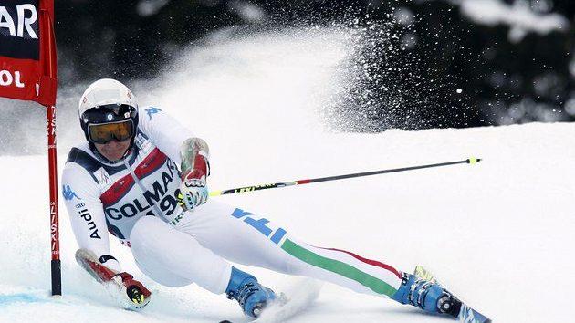 Italský lyžař Massimiliano Blardone