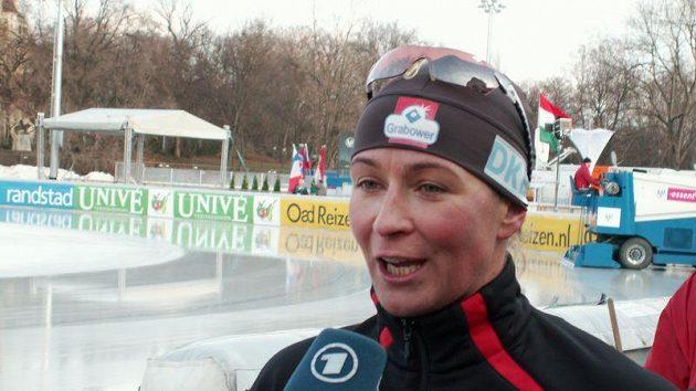 Německá rychlobruslařka Claudia Pechsteinová
