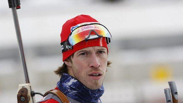 Biatlonista Jaroslav Soukup