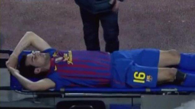 Zranění Sergia Busquetse