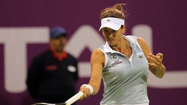 Petra Cetkovská se s turnajem v Dubaji rozloučila už v prvním kole.
