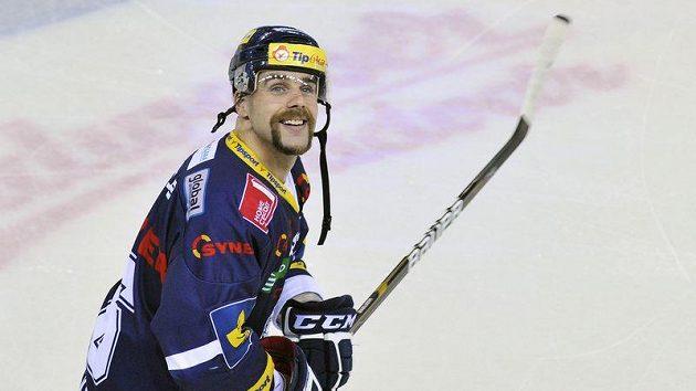 K šestistému utkání v pátek nastoupil liberecký obránce Jan Výtisk.