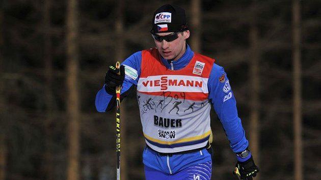 Lukáš Bauer den před startem světového poháru KAJOTbet Zlaté lyže v Novém Města na Moravě