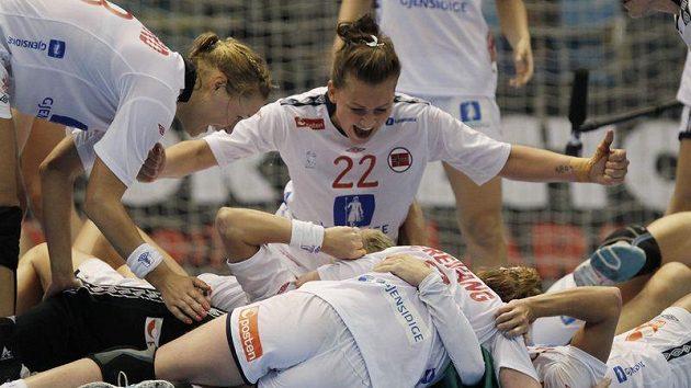 Norské házenkářy se radují. Po dvanácti letech vyhrály mistrovství světa.