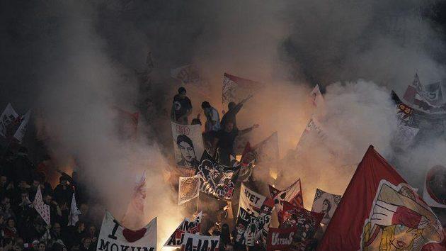 Fanoušci Ajaxu Amsterodam