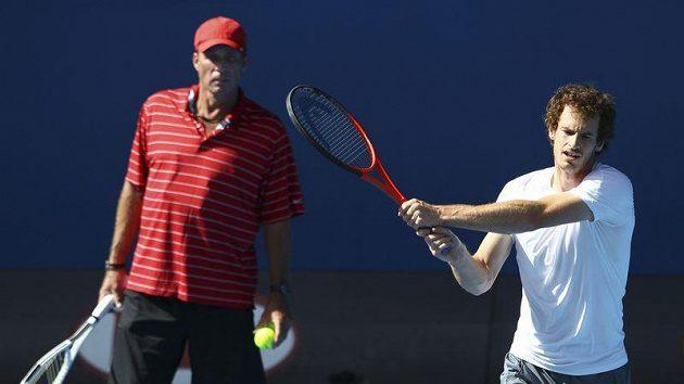Skotský tenista Andy Murray trénuje pod dohledem Ivana Lendla.