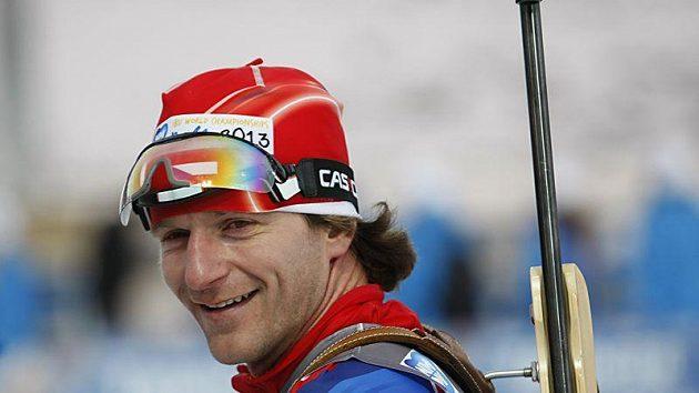 Biatlonista Zdeněk Vítek