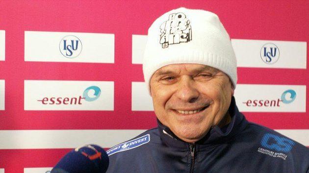 Trenér Petr Novák byl po šampionátu spokojený.