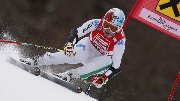 Italská lyžařka Daniela Merighettiová.
