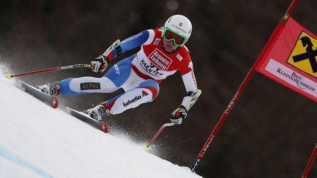Švýcarská lyžařka Fabienne Suterová