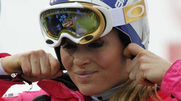 Lindsey Vonnová - královna sjezdovému lyžování.