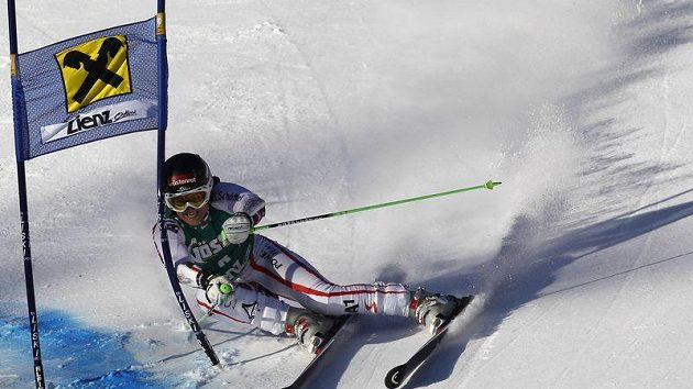 Rakouská lyžařku Elisabeth Görglová