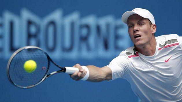 Tomáš Berdych na letošním Australian Open