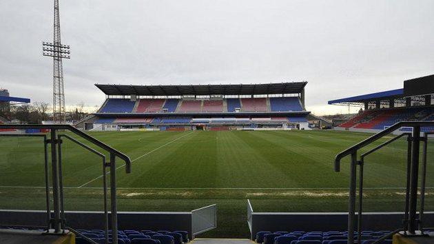 Plzeňský fotbalový stadión.