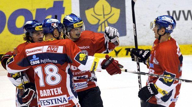 Hokejisté Pardubic se mohli zaradovat i na mezinárodní scéně..
