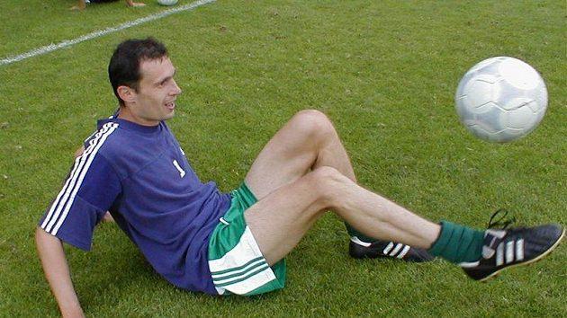 hráč, sekretář a zároveň trenér mládeže na Vyšehradu Kamil Matuszny.