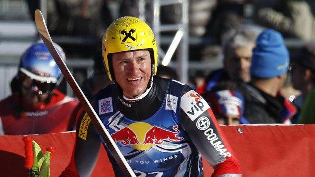 Chorvatský lyžaři Ivica Kostelič.