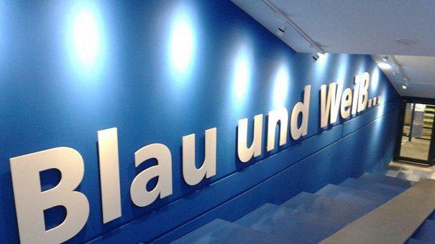 Útroby stadionu fotbalistů německého klubu Schalke 04. Ilustrační snímek.