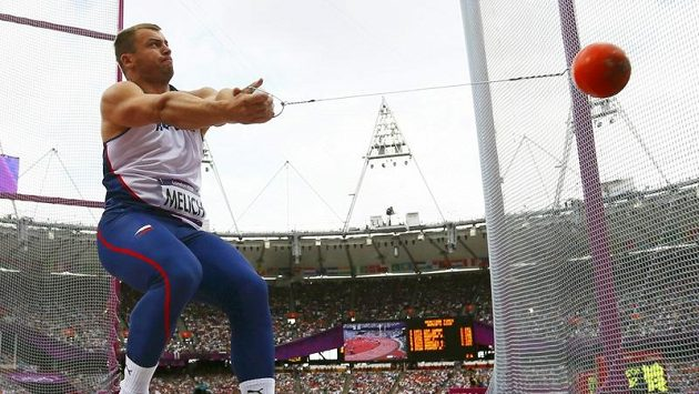Kladivář Lukáš Melich skončil na olympiádě šestý.