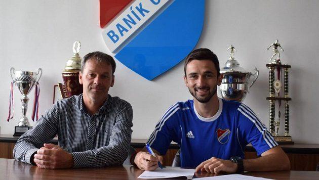 Baník Ostrava získal srbského defenzivního záložníka Stefana Paniče, který přišel z klubu Metalac Gornji Milanovac.