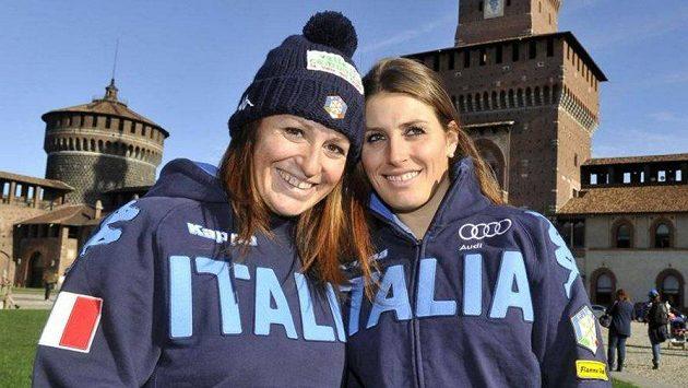 Italské lyžařky Elena a Nadia Fanchiniovy ukončily kariéru.