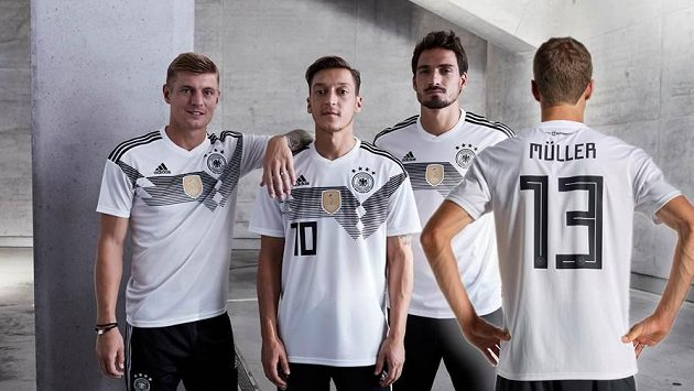 Nová kolekce dresů německého národního týmu. Ilustrační snímek.