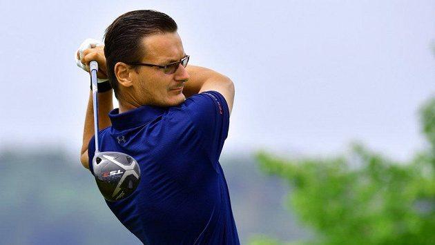 Český golfista Ondřej Lieser.