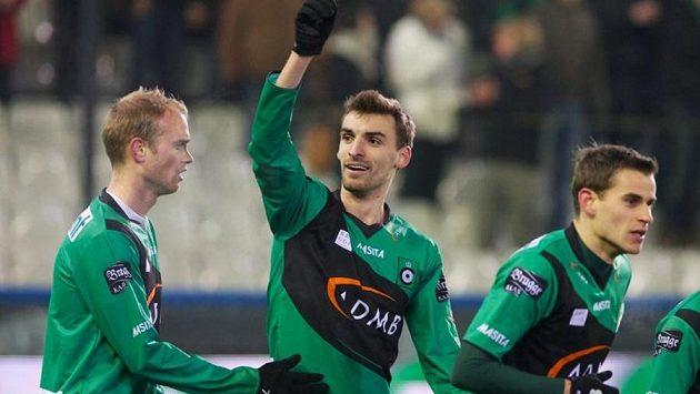 Grégory Mertens (uprostřed).