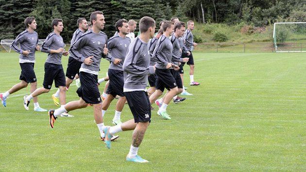 Fotbalisté Jablonce se připravují na úvodní duel třetího předkola Evropské ligy proti norskému týmu Strömsgodset IF.
