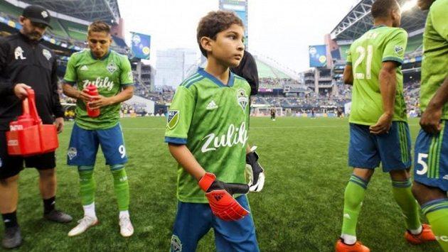Vážně nemocný chlapec si zachytal proti Borussii Dortmund