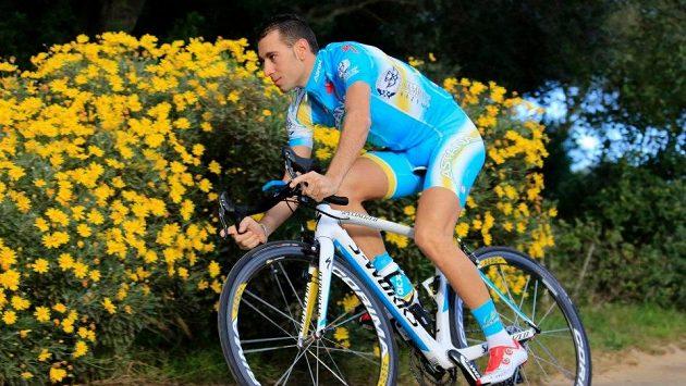 Cyklista Vincenzo Nibali