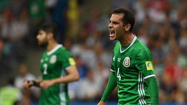 Kapitán mexické reprezentaccde Rafael Márques se do mužstva vrátil a bude startovat na pátém šampionátu.