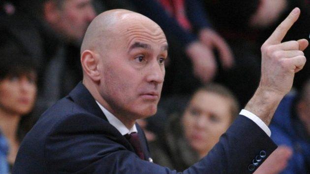 Asistent trenéra Nymburka Chorvat Jurica Žuža.