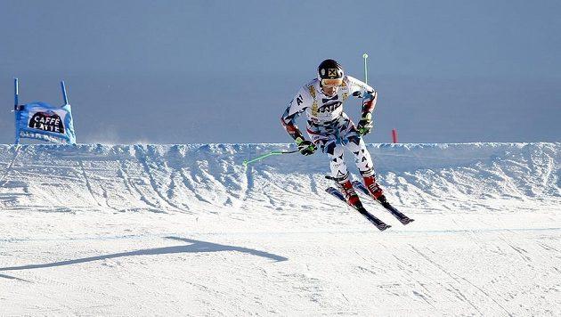 Marcel Hirscher během obřího slalomu