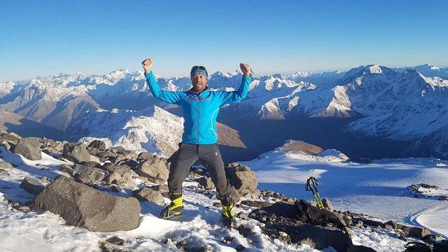 Radek Jaroš na kavkazském Elbrusu.