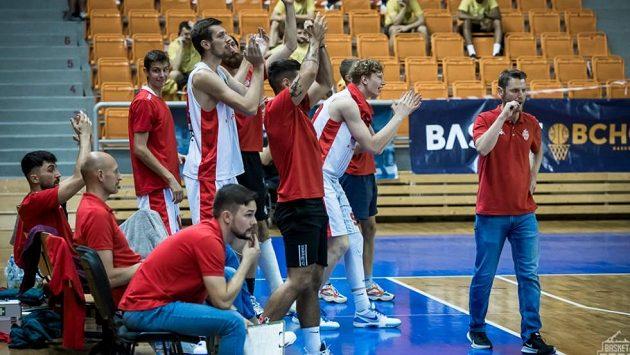 Basketbalisté Brna v akci - ilustrační foto