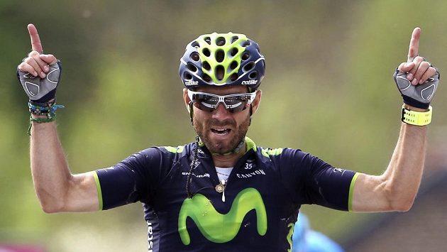 Španěl Alejandro Valverde vyhrál klasický závod Valonský šíp.