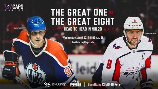 Alexandr Ovečkin a Wayne Gretzky změří síly ve videohře NHL 20.