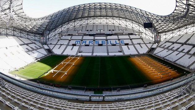 Stade Vélodrome v Marseille.