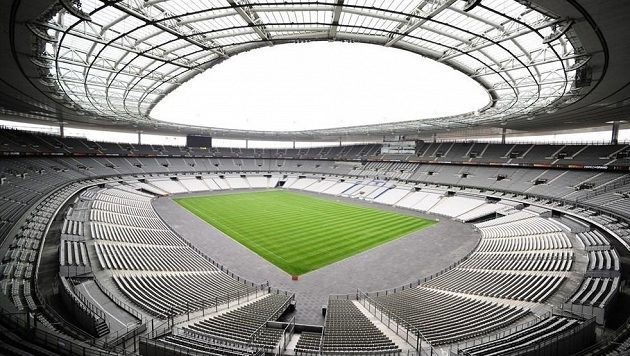 Stadión Stade de France v St. Denis, kde začne šampionát.