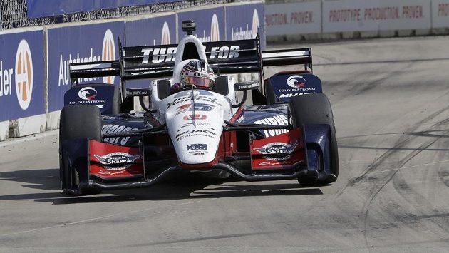 Graham Rahal během závodů IndyCar.
