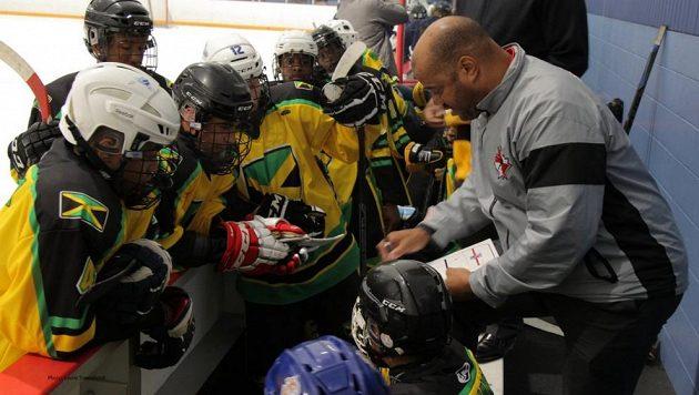 Jamajský hokejový tým.